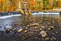 Speedwell Dam And Waterfall.