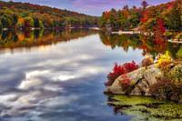 Harriman State Park In Autumn.