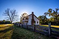 Pea Ridge National Battlefield in Pea Ridge, Arkansas.