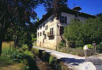 Pio Baroja´s house. Vera de Bidasoa, Navarra, Spain.