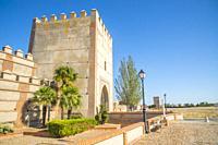 City wall. Madrigal de las Altas Torres, Avila province, Castilla Leon, Spain.