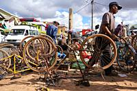 Weekly market at Behenjy, famous for duck foie gras, Antsirabe, Central Madagascar