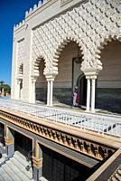 mausoleum of Mohammed V in Rabat, Maroc