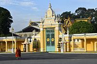 Royal Palace,Phnom Penh,Cambodia,South Esat Asia.