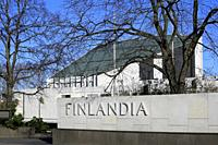 The Finlandia Hall, 1967-1971, is a congress and event venue in Helsinki, Finland. Every detail of the building is designed by architect Alvar Aalto.