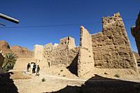 kasbah de Ifri, valle del río Ziz, cordillera del Atlas, Marruecos, Africa.