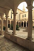Croatia, Zadar, Franciscan Monastery, cloister.