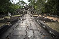Banteay Kdei temple in Angkor Wat, Siem Reap, Cambodia.