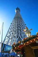 Tokyo Sky Tree. Sumida Neighborhood. Tokyo. Japan.