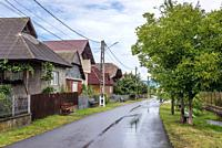Sapanta village located in Maramures County of Romania.