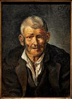 """""""Old man"""", 1895, Pablo Picasso (1881-1973), Museu Picasso Museum, Barcelona, Catalonia, Spain"