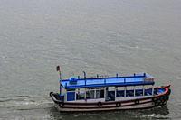 Boat in Nha Trang Bay. Nha Trang, Vietnam, Southeast Asia.