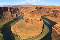 Horseshoe Bend, Glen Canyon, Arizona, USA.