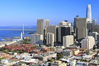 San Francisco Downtown, California, USA.