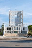 Concattedrale Gran Madre di Dio, Taranto, Italy - Arch. Gio Ponti: The west front of Gio Ponti´s Concattedrale Gran Madre di Dio, in the port city of ...