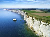 Cliffs of Etretat, Normandy, France.