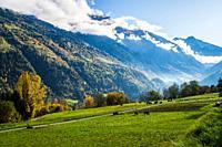 Brusson, Valais, Switzerland.