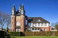 Moenchengladbach, D-Moenchengladbach, Niers, Lower Rhine, Rhineland, North Rhine-Westphalia, NRW, Palace St George, hotel and restaurant, DEHOGA Acade...