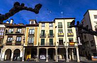 Plaza Mayor. Aranda de Duero. Burgos. Castilla León. España.