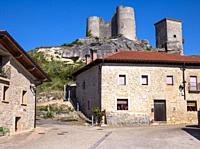 Castillo de Santa Gadea del Cid. Burgos. Castilla León. España.