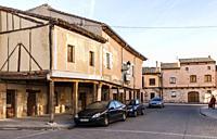 Arquitectura tradicional. Villadiego. Burgos. Castilla León. España.