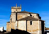 Iglesia de San Lorenzo. Villadiego. Burgos. Castilla León. España.
