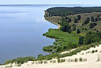 dead sand dunes, Nagliai Nature Reserve, Curonian Spit, Lithuania, Baltic States, North Europe.