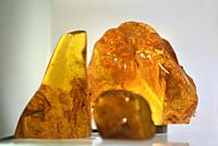 Baltic amber, Nida, Curonian Spit, Lithuania, Baltic States, North Europe.