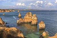 Praia do Camilo, Lagos, Algrave, Portugal, Europe.