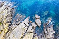 Coastal landscape. Cantabria, Spain, Europe.