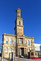 Irvine Townhouse, a 19th century historical listed building, built in an Italianate style by JAMES INGRAM in 1862 at a cost of £4000. The octagonal st...