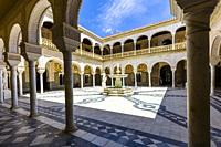 La Casa de Pilatos or Pilate's House built in the 16th century in Seville Spain.