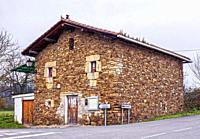 Stone house. Biscay, Basque Country, Spain.