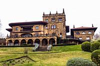 Palacio Lezama-Leguizamón. Paseo de las grandes villas. Getxo. Biscay, Basque Country, Spain.