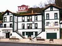 Architecture. Puerto viejo (Old fishing port). Getxo. Biscay, Basque Country, Spain.