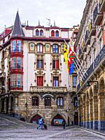 Town hall. Portugalete. Biscay, Basque Country, Spain.