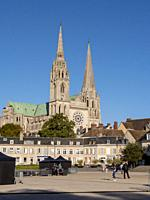 Europe, France, Chartres, Cathedral.