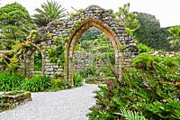 Tresco Abbey Gardens are located on the island of Tresco in the Isles of Scilly, United Kingdom. The 17 acre gardens were established by the nineteent...