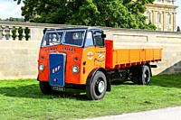 An ERF C 15 dropside lorry, truck or commercial vehicle, built in 1943 reg. no. FTD 641.