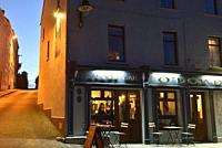 O´Dowd´s pub, Rounstone, west coast, County of Galway, Connemara, Republic of Ireland, North-western Europe.