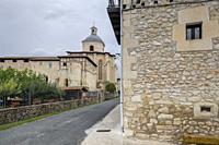 Colegiata de Santa María, Valpuesta, provincia de Burgos, comunidad autónoma de Castilla y León, Spain.