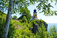 Split Rock Lighthouse is a lighthouse located southwest of Silver Bay, Minnesota, USA on the North Shore of Lake Superior. The structure was designed ...