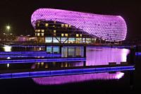 Yas Viceroy Hotel, Abu Dhabi, United Arab Emirates.