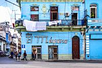 Streets of Old Havana, Republic of Cuba, Caribbean, Central America.