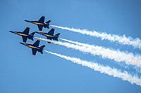Blue Angels - Sun n' Fun airshow, Lakeland Florida.