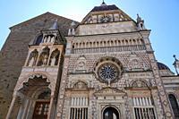 The Cappella Colleoni, Bergamo, Lombardia, Italy, Europe.