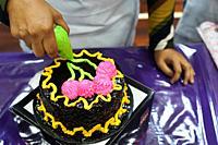 Fiesta Satok 3.0 cake decoration competition at Sungai Maong Community Hall, Kuching, Sarawak, Malaysia