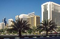 The Corniche, Abu Dhabi, United Arab Emirates, 1984-85.
