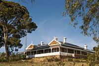 Grand Victorian-era private home in the historic copper mining town of Burra, South Australia.