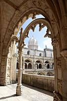 Jeronimos Monastery Cloisters - Lisbon, Portugal.